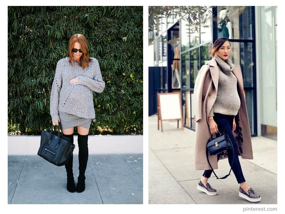 Модная беременность: тренды 2018