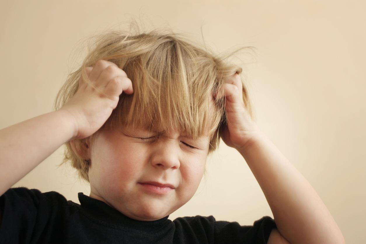 Психогенний свербіж у дитини