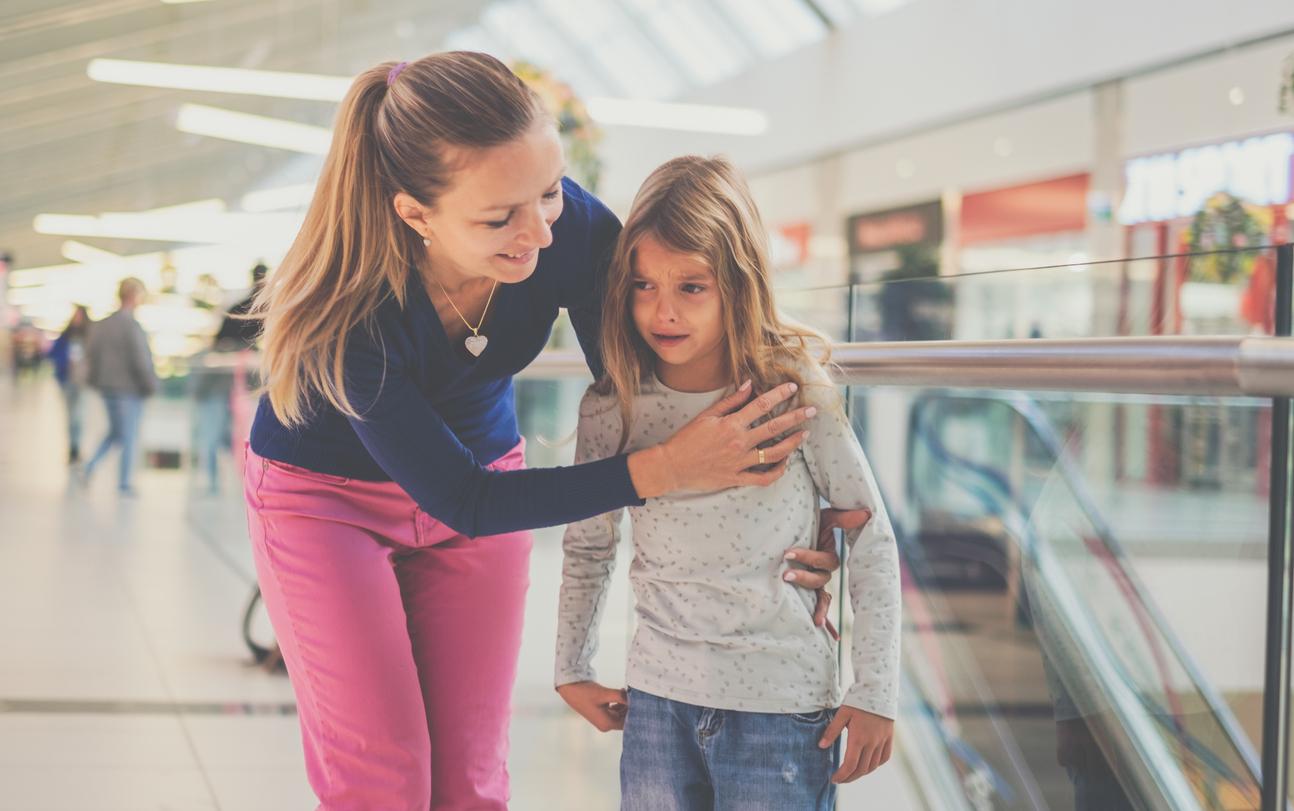 Как действовать, если ребенок потерялся в многолюдном месте