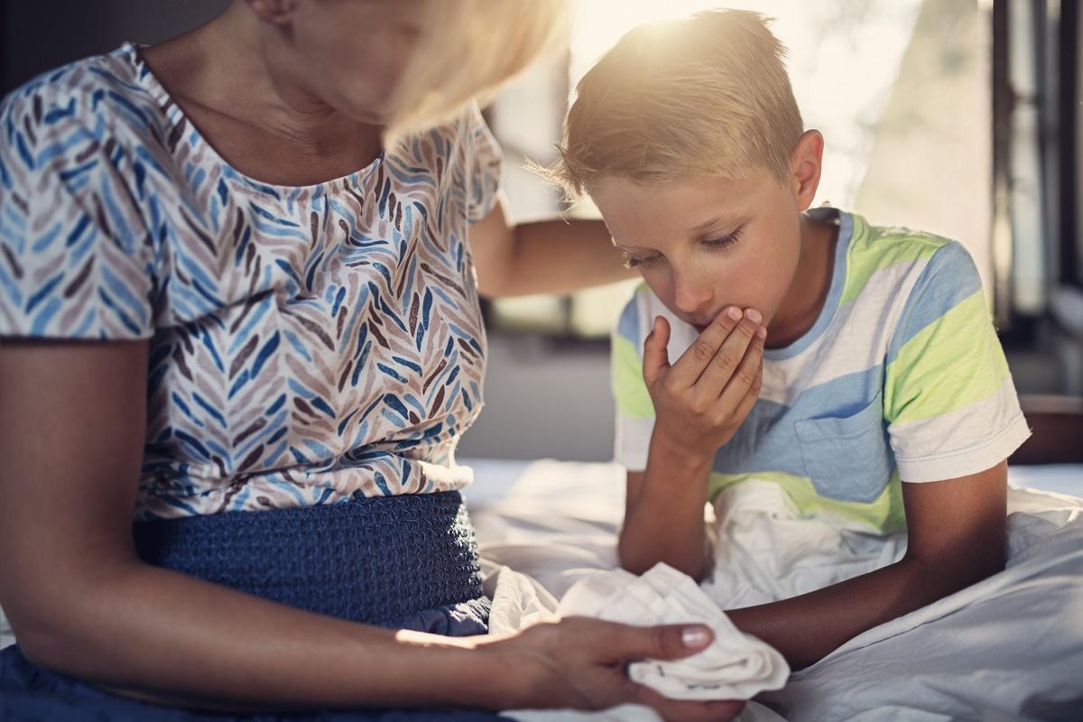 Як розпізнати кір у дитини