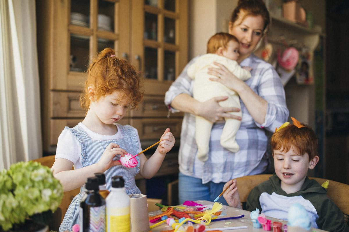 Трое и больше детей: как не сойти с ума