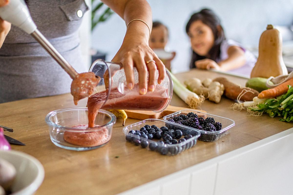 Как приготовить фруктовое пюре в домашних условиях